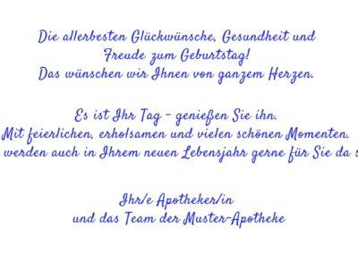Text Geburtstagskarten GT16
