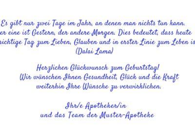 Text Geburtstagskarten GT5