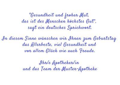 Text Geburtstagskarten GT7