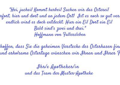 Text Osterkarten OT2