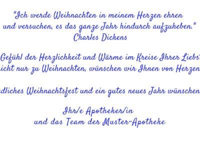 Text Weihnachtskarten WT7
