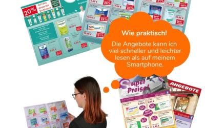 Alles Digital? Wozu braucht man Apothekenflyer?